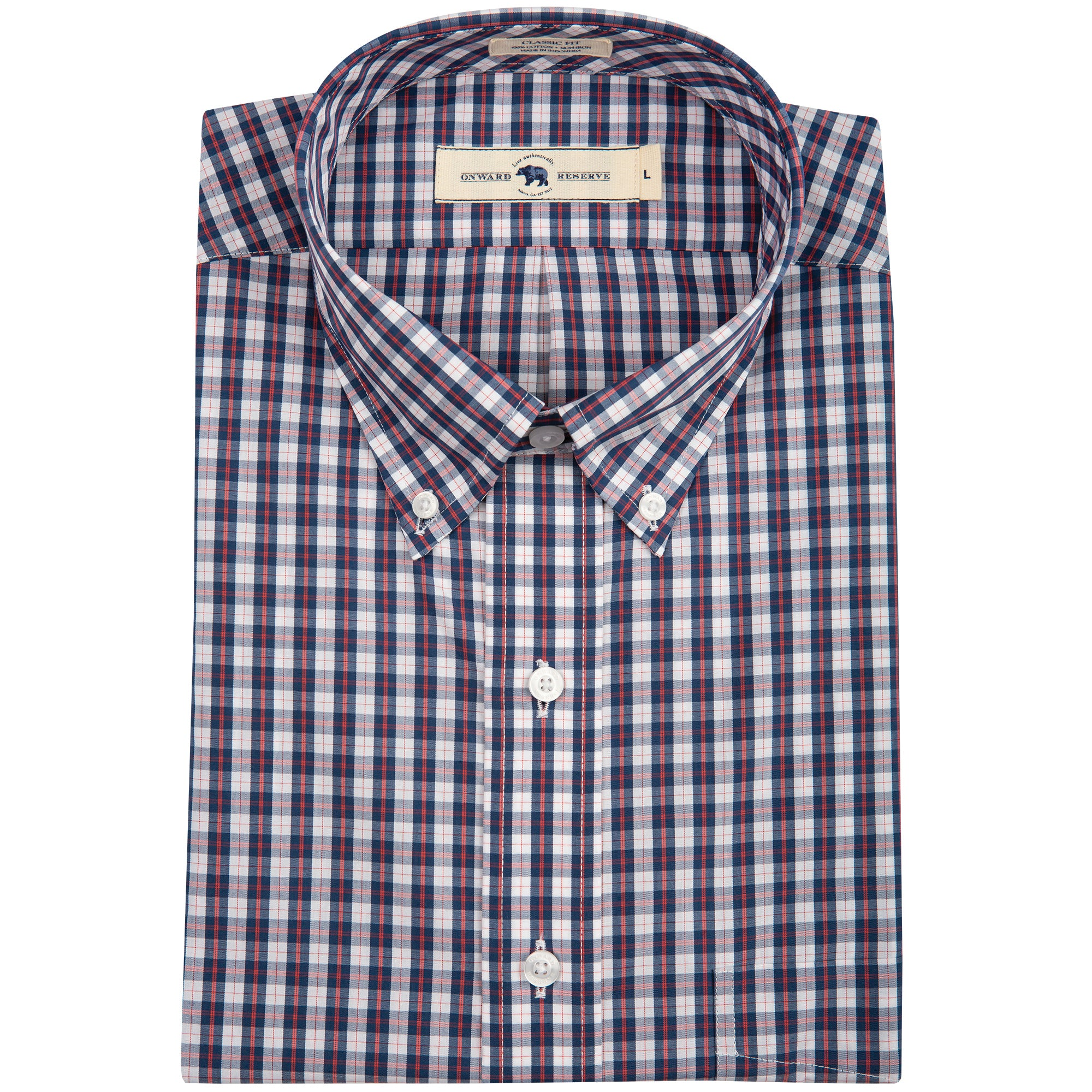 Pomar Classic Fit Button Down - OnwardReserve