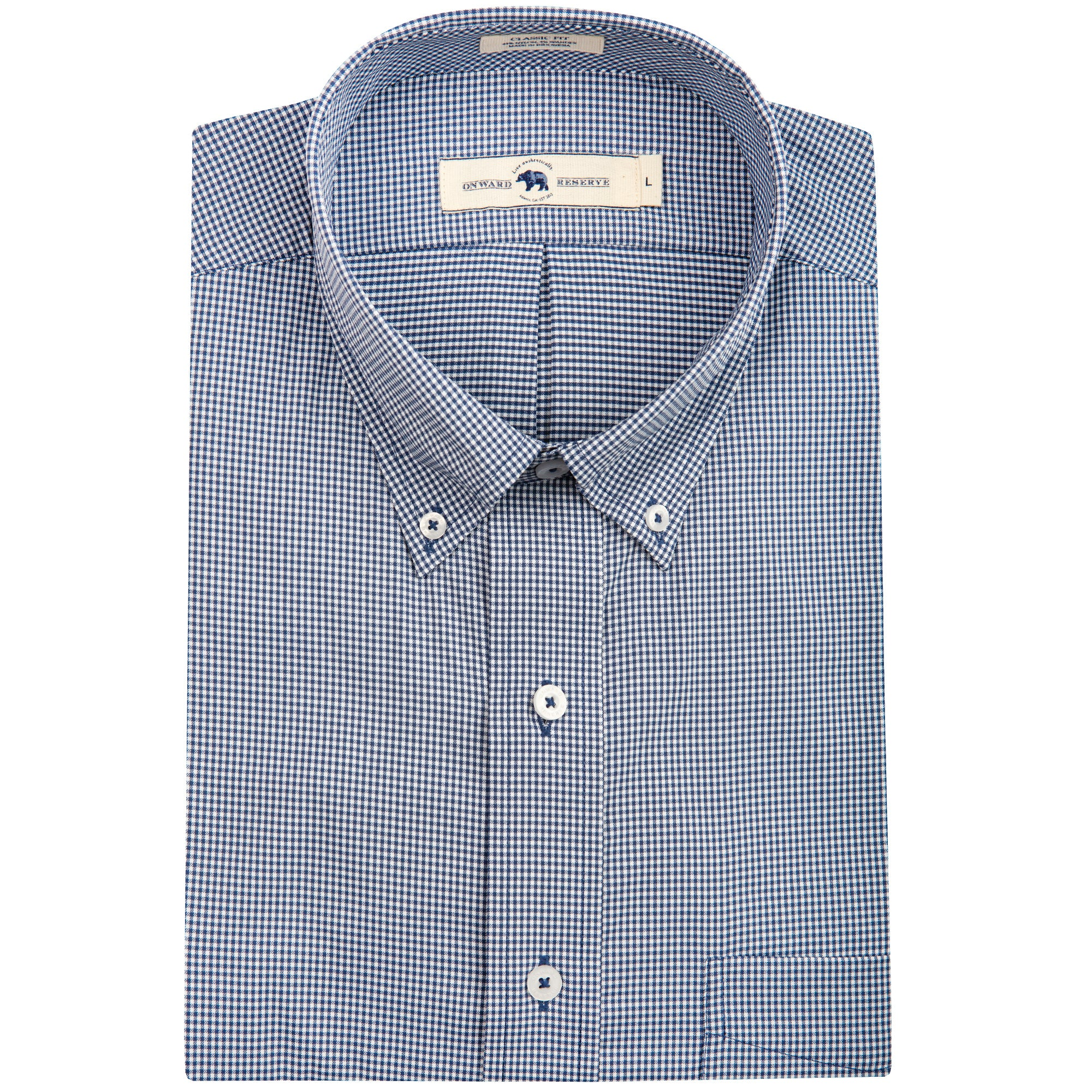 Platte Classic Fit Performance Button Down - OnwardReserve