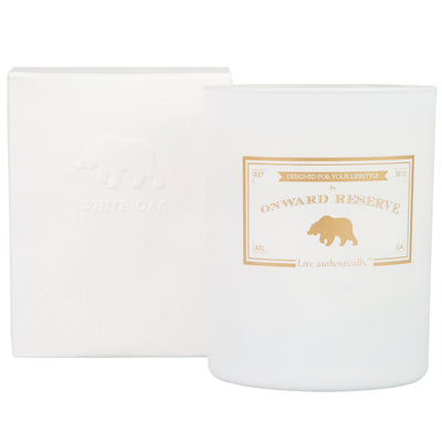 White Oak Wood Wick Candle