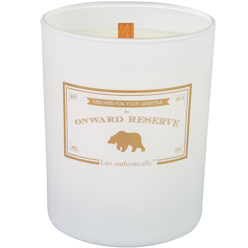 White Oak Wood Wick Candle - OnwardReserve