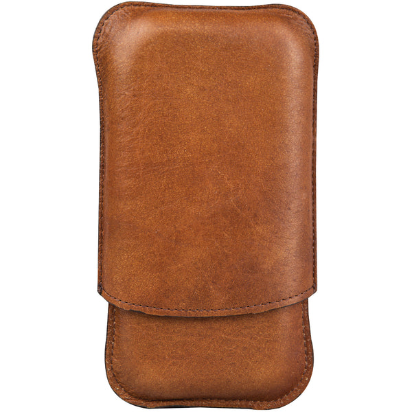 Bison Leather Cigar Case - OnwardReserve