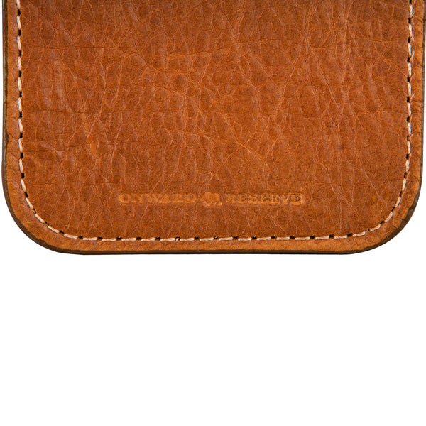 Bison Leather Coaster Set - OnwardReserve