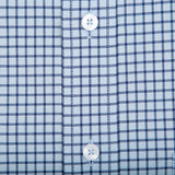 Sky Tattersall Classic Fit Stretch Cotton Button Down