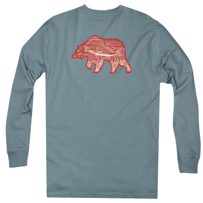 Redfish Bear Long Sleeve Tee