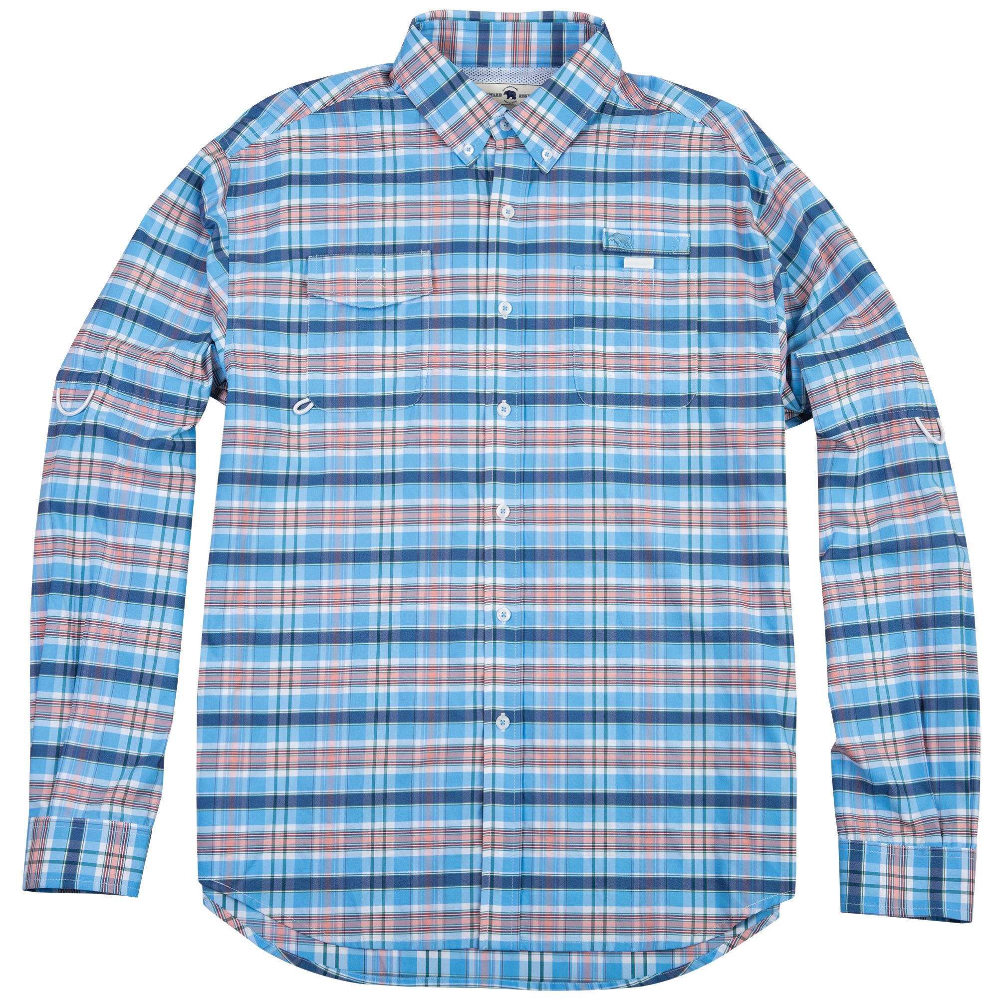Islamorada Fishing Shirt - Vintage Plaid - OnwardReserve