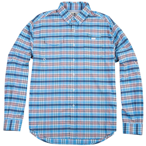 Islamorada Fishing Shirt - Vintage Plaid