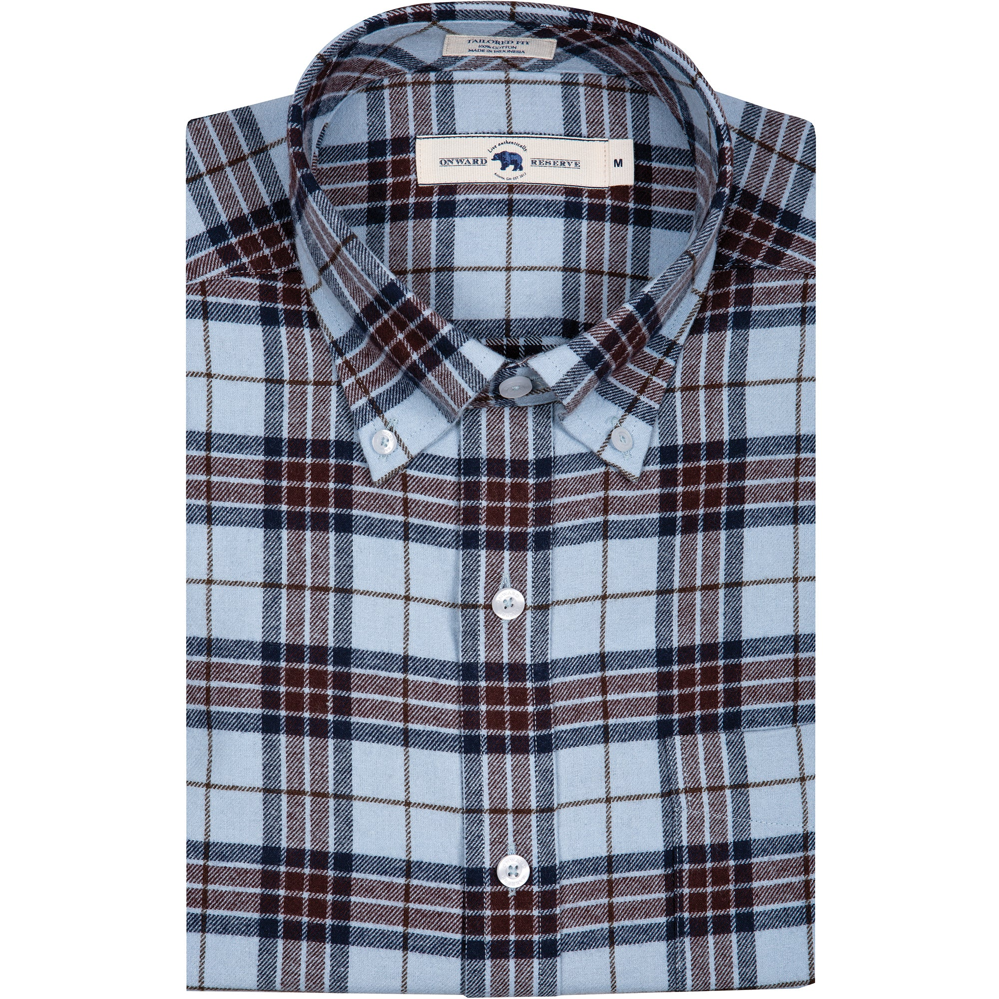 Patton Tailored Fit Flannel