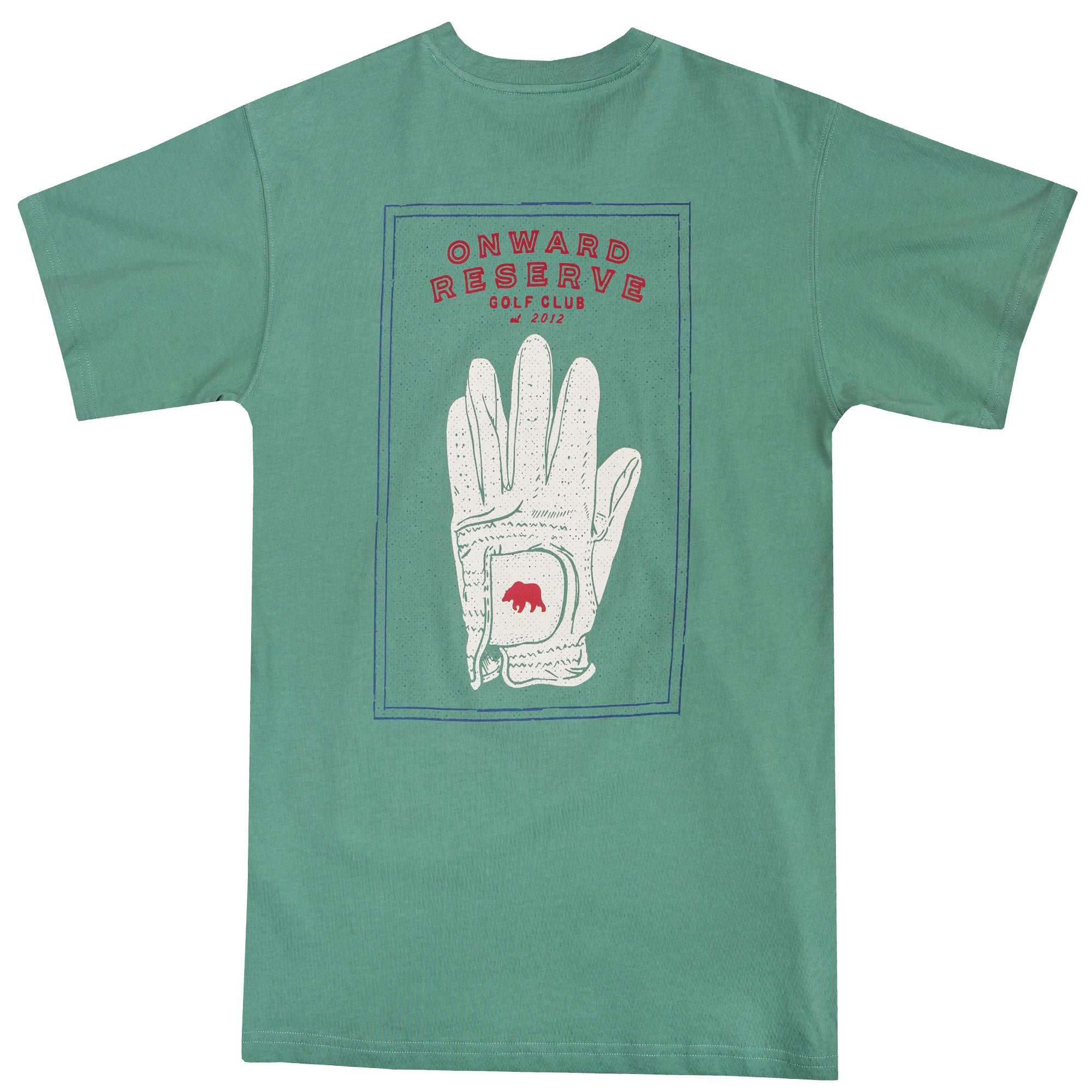 Framed Golf Glove Short Sleeve Tee