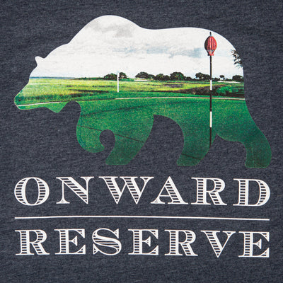 Woven Golf Pin Bear Short Sleeve Tee