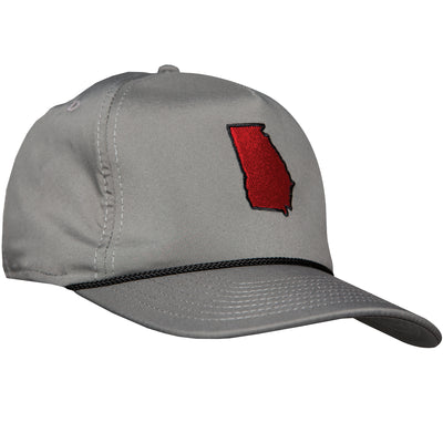 Georgia State Performance Rope Hat