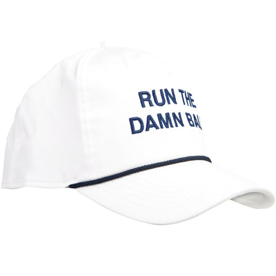 Navy Run The Damn Ball Rope Hat - OnwardReserve