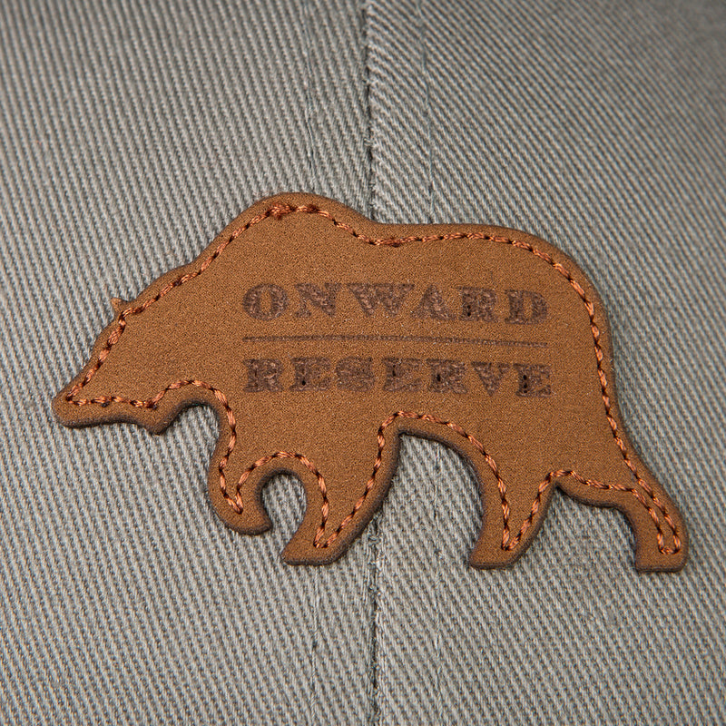 Leather Patch Trucker Hat - Onward Reserve