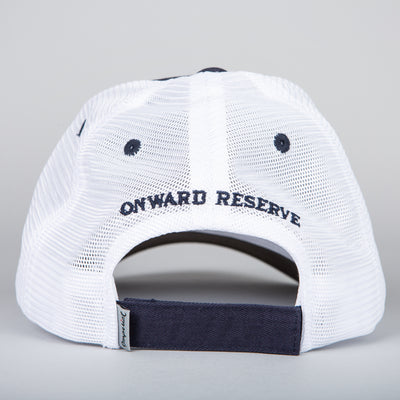 Leather Patch Trucker Hat - OnwardReserve