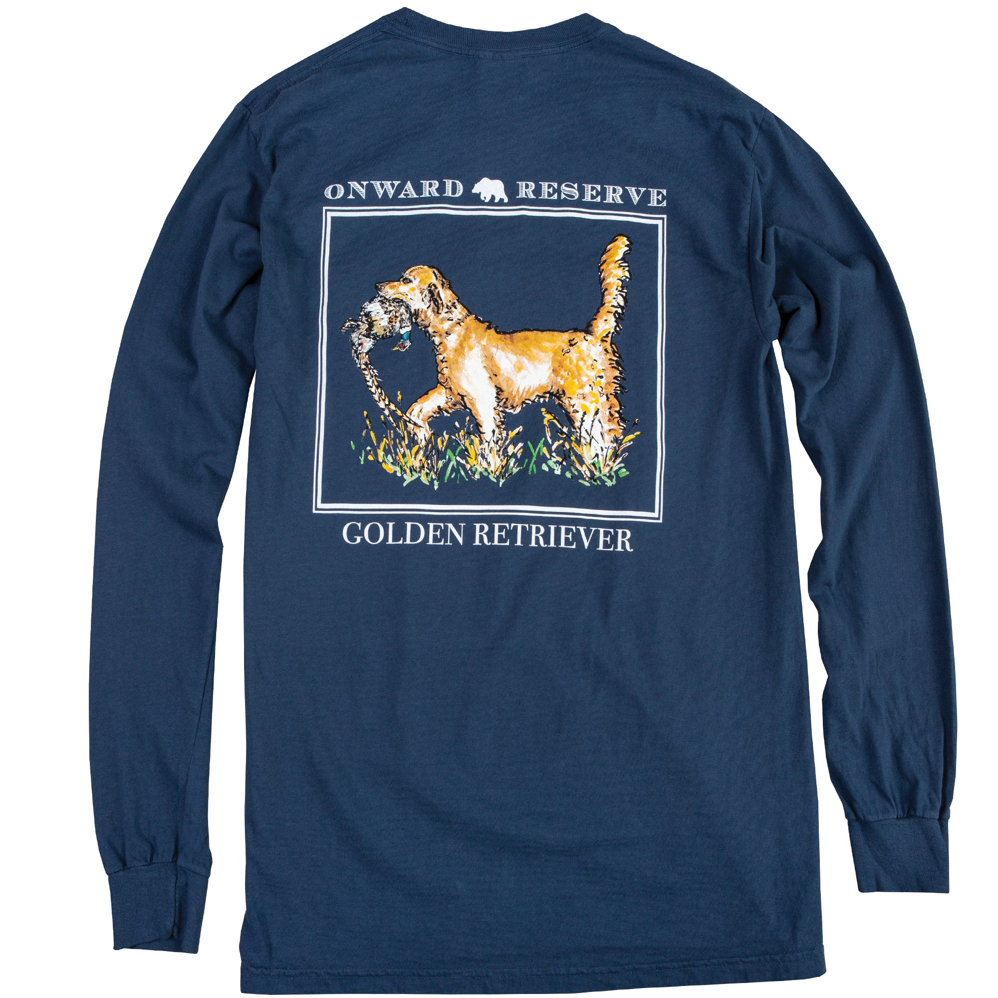 Golden Retriever Long Sleeve Tee - OnwardReserve