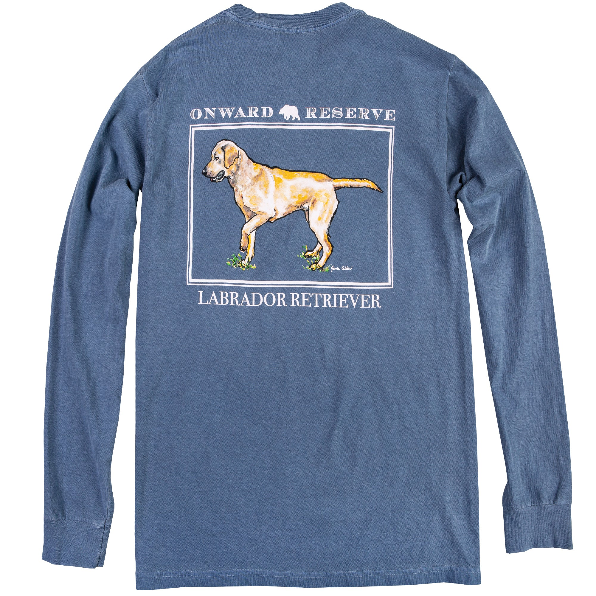 Yellow Lab Long Sleeve Tee