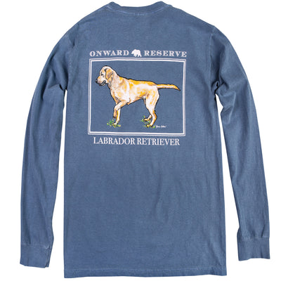 Yellow Lab Long Sleeve Tee - OnwardReserve