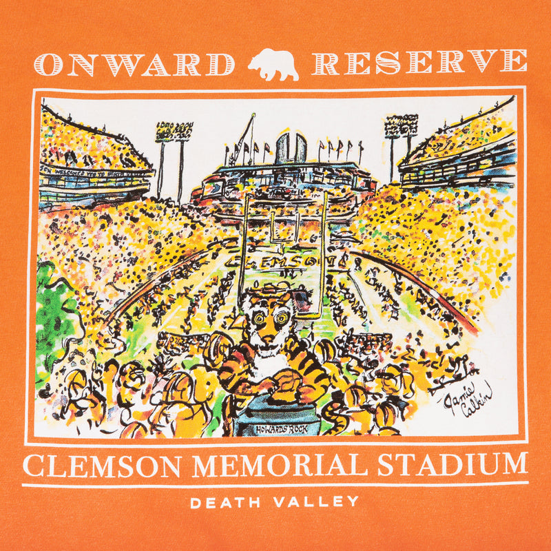 Jamie Calkin Death Valley Stadium Short Sleeve Tee - OnwardReserve