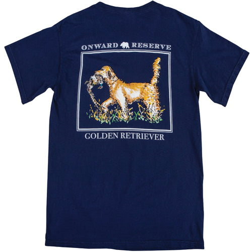 Golden Retriever Short Sleeve Tee - Onward Reserve