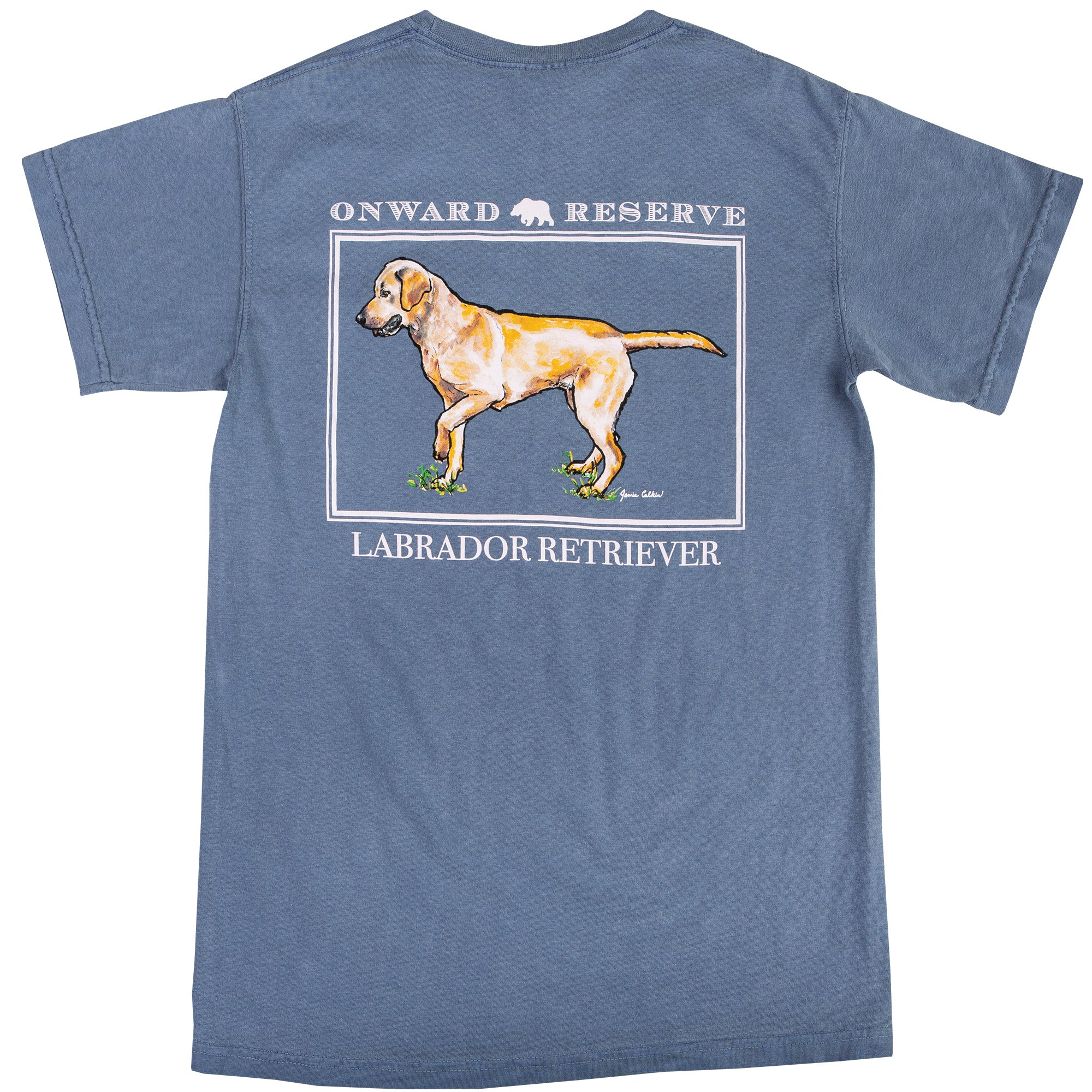 Yellow Lab Short Sleeve Tee - OnwardReserve