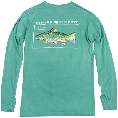 Brook Trout Long Sleeve Tee - OnwardReserve