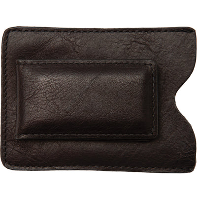 Bison Leather Sports Clip Wallet