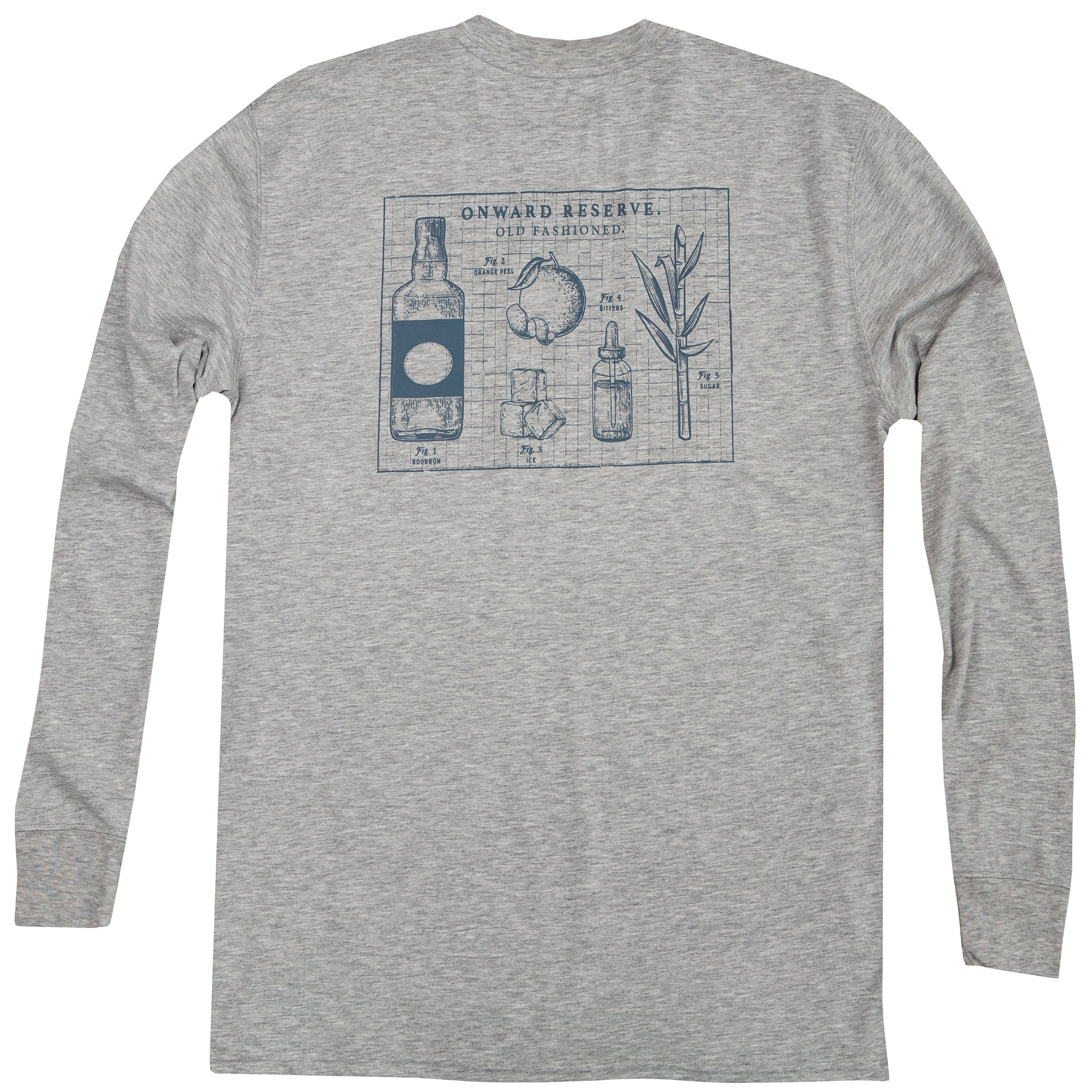 Old Fashioned Long Sleeve Tee