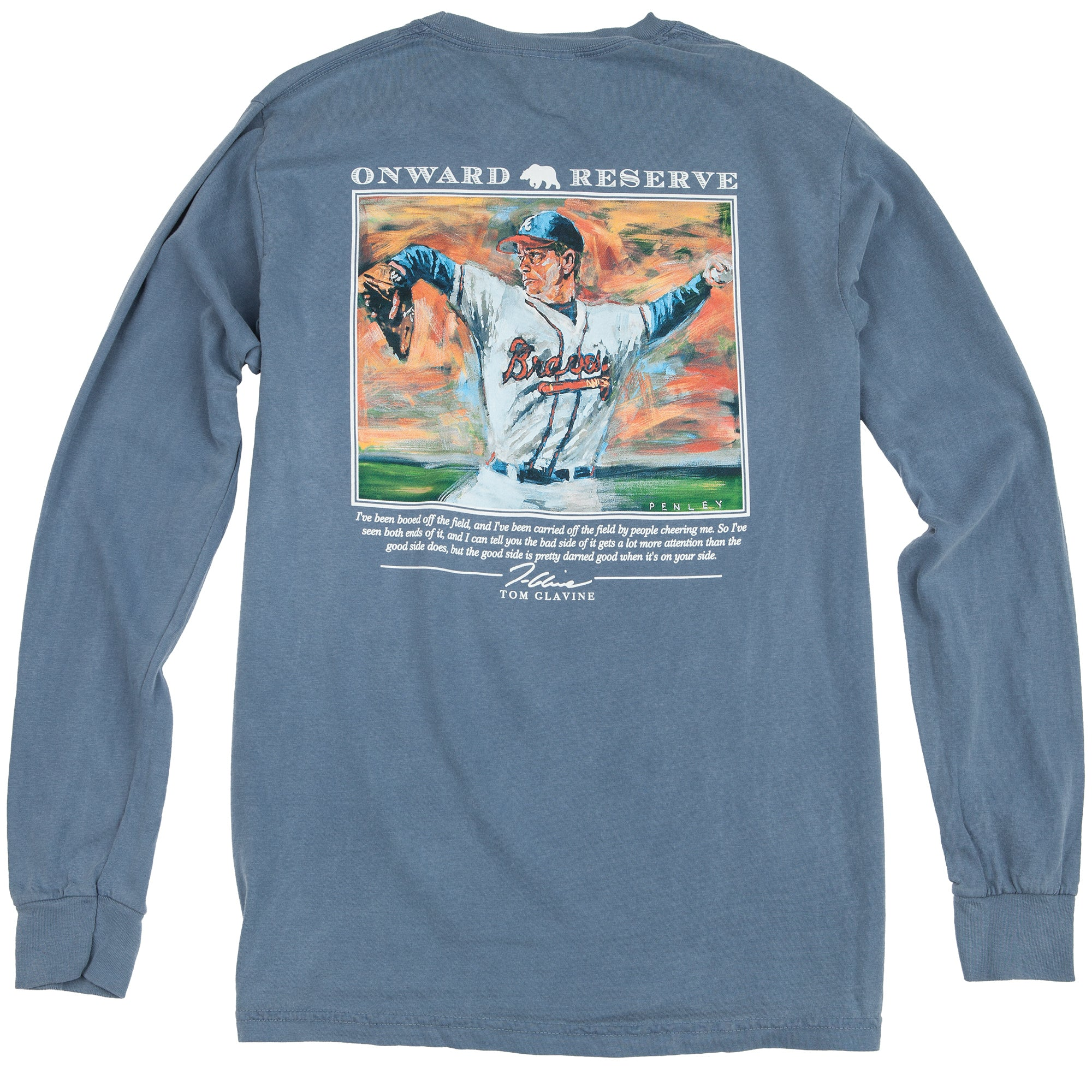 Tom Glavine Penley Long Sleeve Tee - OnwardReserve