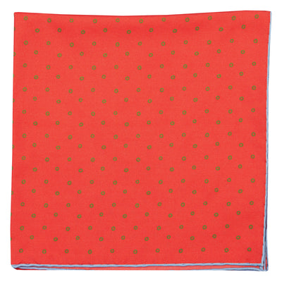 Dotty Silk Pocket Square