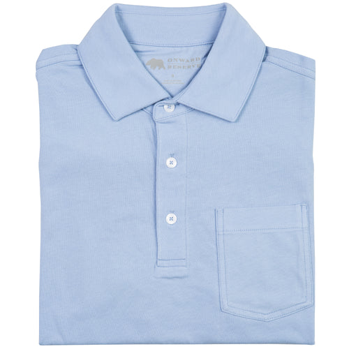 Solid Pima Cotton Polo - Onward Reserve