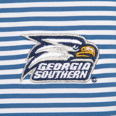 Pro Stripe Georgia Southern Polo - OnwardReserve