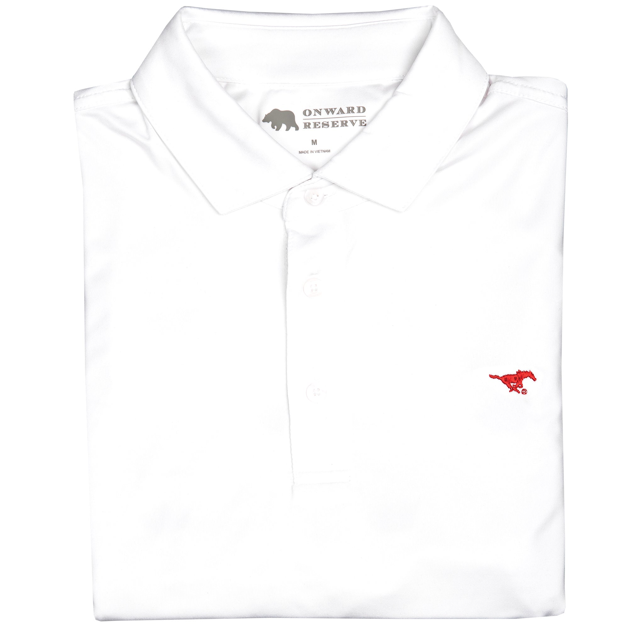 Solid SMU Polo - OnwardReserve