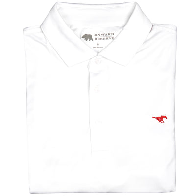 Solid SMU Polo