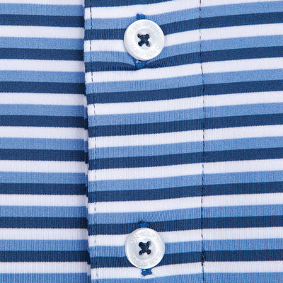 Triple Stripe Performance Polo - OnwardReserve