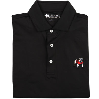 Solid Standing Bulldog Performance Polo - OnwardReserve