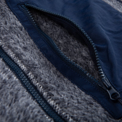 The Heathered Fleece Vest - OnwardReserve