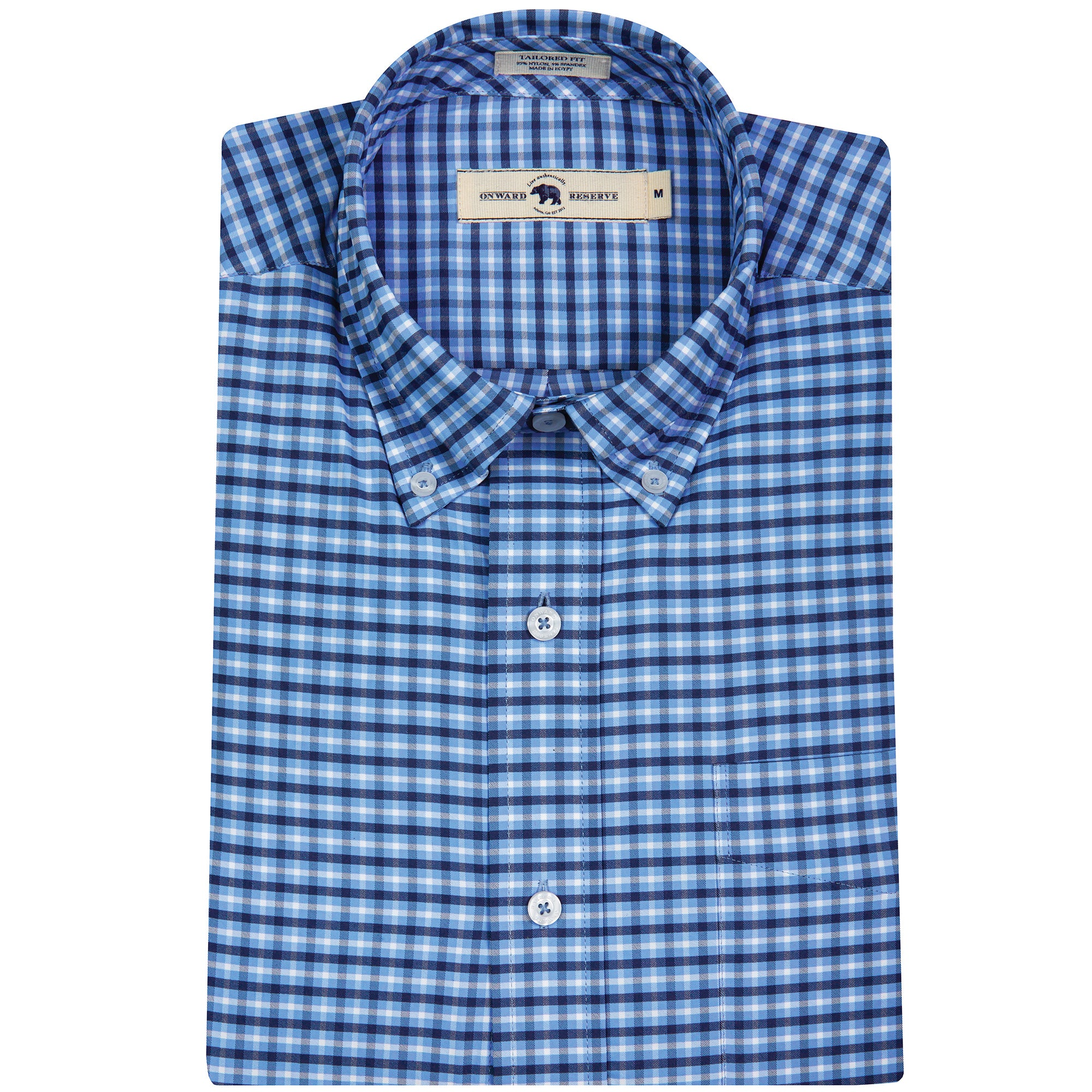 Cannon Tailored Fit Performance Button Down