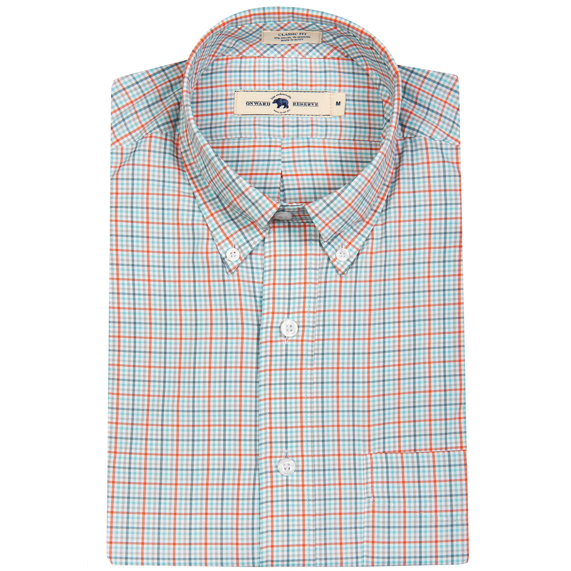 Rees Classic Fit Performance Button Down