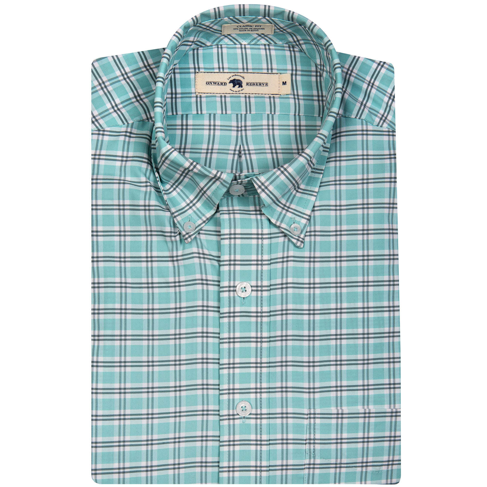 Bertie Classic Fit Performance Button Down