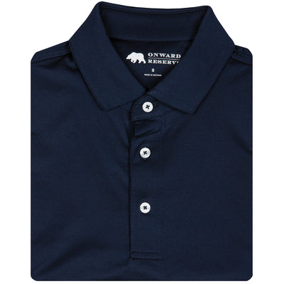 Solid Performance Polo - Navy