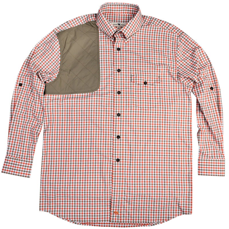 Rust Tattersall Performance Shooting Shirt