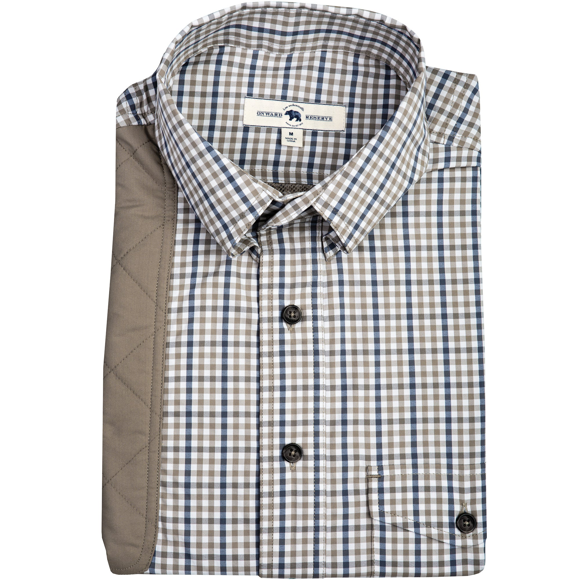 Brush Gingham Performance Shooting Shirt