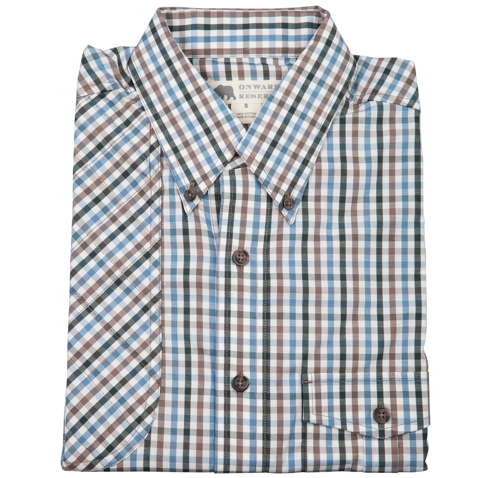 Red Hills Shooting Shirt Multi Gingham - OnwardReserve
