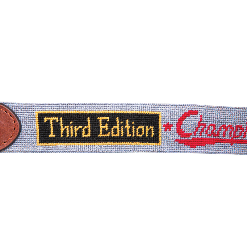 Georgetown Bars Needlepoint Belt