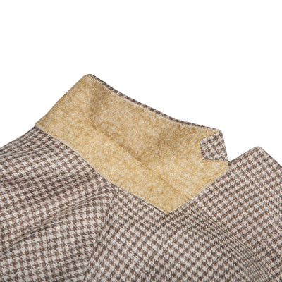 Loro Piana Summertime Tan Houndstooth Sport Coat - OnwardReserve