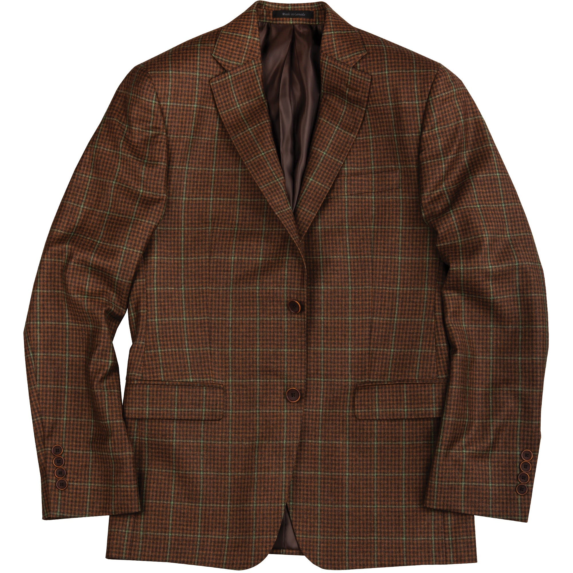 Reda Broadfield Check Sport Coat