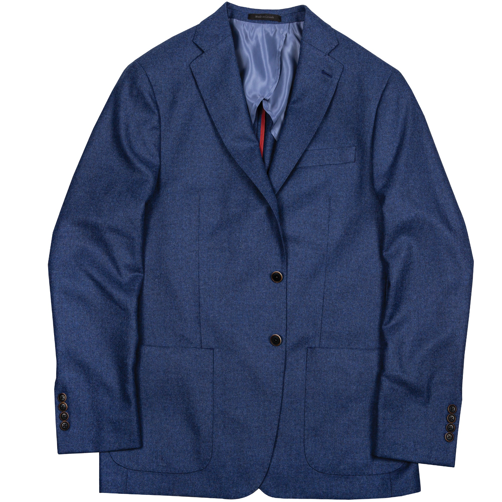 Loro Piana Blue Cashmere Blend Sport Coat