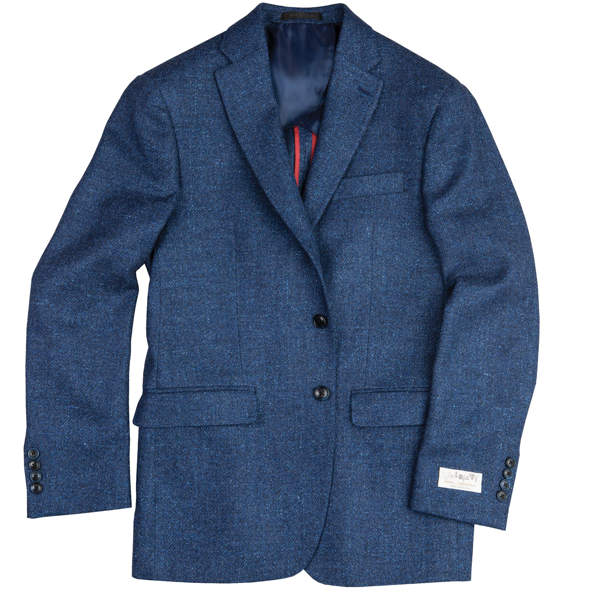 Blue Woven Soft Coat - OnwardReserve