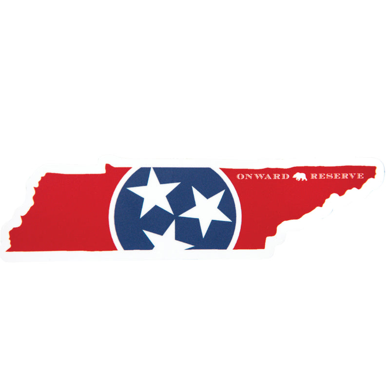 Tennessee State Flag Decal - OnwardReserve