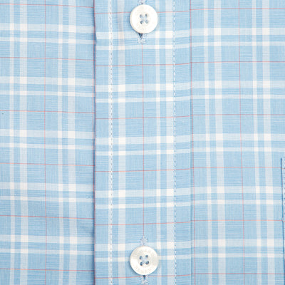 Coral Glen Plaid Tailored Fit Stretch Cotton Button Down - OnwardReserve
