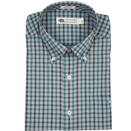 Hermitage Performance Tailored Fit Button Down